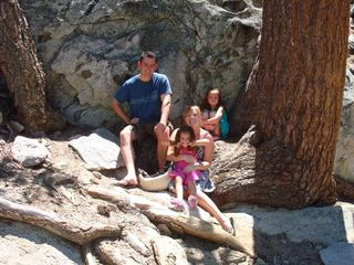 Family on Mt. San Jacinto