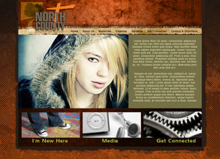 NCCC Home Page Mock