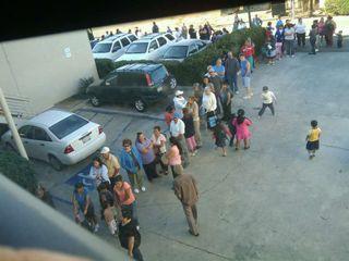 Food line at NCCC